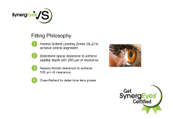 SynergEyes VS Scleral Lens Certification