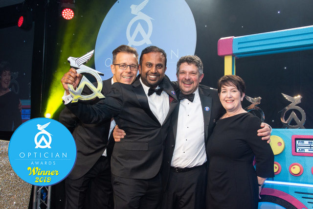 optician awards winner 2019 2