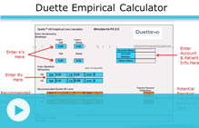 duette empirical calculator video